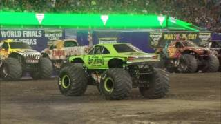 Download Gas Monkey Garage - FULL Freestyle from Monster Jam in Gillette Stadium - Foxborough 2016 Video