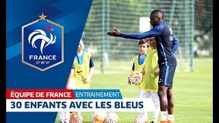 Download Equipe de France, entraînement : Ces 30 jeunes ont joué avec les Bleus ! I FFF 2016 Video