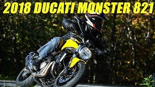 Download 2018 Ducati Monster 821 First Ride Review Video