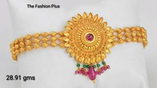 Download Gold Bajuband |Armlet | designs with weight 2018 Video