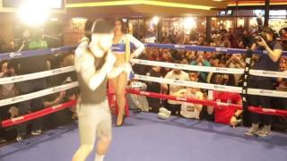 Download CARL FRAMPTON OFFICIAL PUBLIC WORKOUT @ MGM GRAND, LOS VEGAS / FRAMPTON v SANTA CRUZ 2 Video