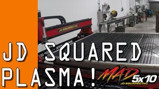 Download JD Squared CNC Plasma: Arrival & First Cuts! Video