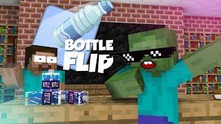 Download Monster School: Bottle Flip Challenge VS GRANNY - Minecraft Animation Video