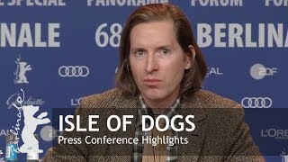 Download Isle of Dogs   Press Conference Highlights   Berlinale 2018 Video