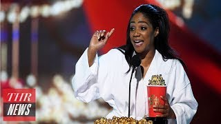 Download Tiffany Haddish Opens the 2018 MTV Movie & TV Awards With a Bang | THR News Video