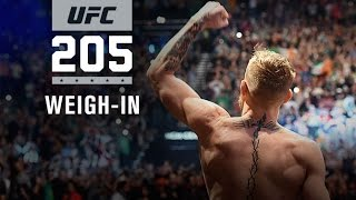 Download UFC 205: Official Weigh-in Video