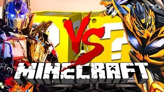 Download Minecraft | TRANSFORMERS LUCKY BLOCK CHALLENGE | Autobots Assemble! Video