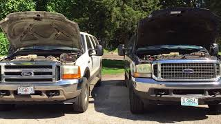 Download Two 7.3 Excursions with 300,000+ Miles!!! Video