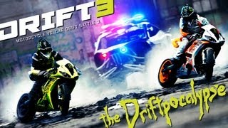 Download Motorcycle vs. Car Drift Battle 3 - [Full HD] Video