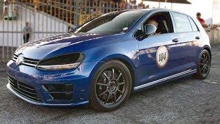 Download Hellcat DESTROYER - VW Golf SMASHES Big V8's Video