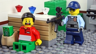 Download Lego Bank Robbery - Invisible Man Video