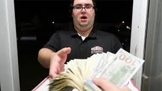 Download Tipping Pizza Delivery Guys $10,000 Video