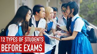 Download 12 Types of Students Before Exams Video