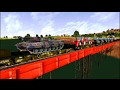 Download Freight Train in MSTS Open Rails by Sumit Mehrotra Video