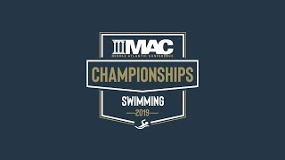 Download 2019 MAC Swimming Championships - Session 6 Video