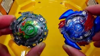 Download (Hasbro) Beyblade Burst BATTLE!! Kerbeus K2 vs Valtryek V2 Video