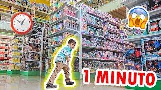 Download TODOS LOS JUGUETES QUE PUEDA TOMAR EN 1 MINUTO SON GRATIS *jugueteria gigante* Video