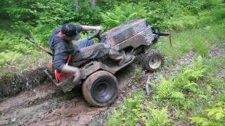 Download Gone beyond....on a Fearlessfront trail..... and needed the winch..... Video