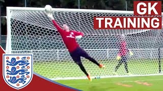 Download Triple shot stop & diving saves - Hart, Forster & Heaton (Euro 2016) | Inside Training Video