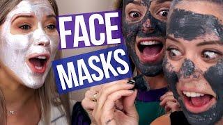 Download Weird Magnetic Face Masks w/ GRACE HELBIG (Beauty Break) Video