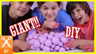 Download DIY GIANT SQUISHY SLIME STRESS BALL!! Bubble or Infectious disease stress ball! | KITTIESMAMA Video