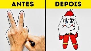 Download 16 TRUQUES DE DESENHOS PARA ILUMINAR A SUA IMAGINAÇÃO Video