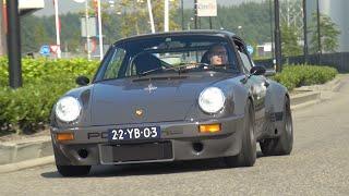 Download Custom Built Porsche 911 RSR - Start, Revs, Accelerations! Video