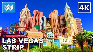 Download Walking tour of the entire Las Vegas Strip 2018 Travel Guide【4K】 Video