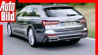 Download Audi A6 Avant (2018) Erste Fahrt / Test / Review Video