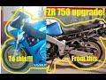 Download FZR 750 modification Video
