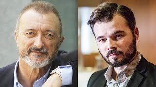 Download Pique entre Pérez-Reverte y Gabriel Rufián (ERC) en twitter Video