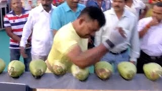 Download World Record Coconut Smasher Video