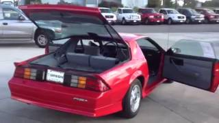 Download 1992 Chevrolet Camaro 2D Convertible RS (V8) Video
