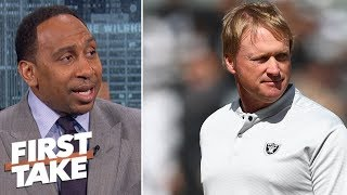 Download Stephen A.: Jon Gruden has been acting arrogant | First Take Video