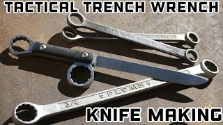 Download Knife Making - Tactical Trench Wrench Knife Video