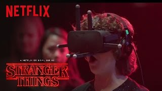 Download Stranger Things | Cast Reacts: Virtual Reality [HD] | Netflix Video