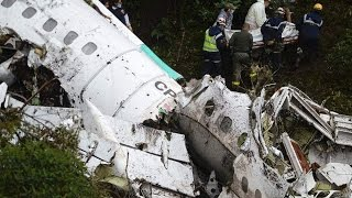 Download Brazil's Chapecoense Soccer Team's Plane Crashes In Colombia Video