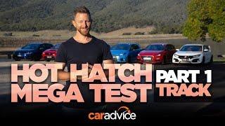 Download 2018 Hot Hatch Mega Test, Part 1: Track & Performance Video