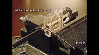 Download [30] Closeup On How Lock Picking Works Video