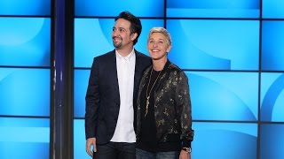 Download Lin-Manuel Miranda Busts Out Rhymes with Ellen Video