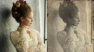 Download How to Create Vintage Old Photo Effect in Photoshop - Retro Look Photo Edit - Photoshopdesire Video