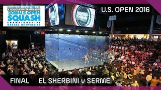 Download Squash: El Sherbini v Serme - U.S. Open 2016 - Final Highlights Video