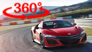 Download 【360度 VR試乗】ホンダ NSX 新型 でサーキット全開アタック Video