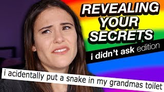 Download REVEALING YOUR SECRETS (I didn't ask Edition) | AYYDUBS Video