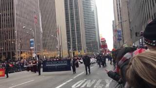Download Hendrickson Hawk Band at Macy's Parade in NYC - Nov 2016 Video