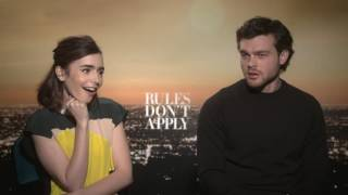 Download Shakefire: 'Rules Don't Apply' Interview with Lily Collins and Alden Ehrenreich Video