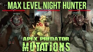 Download Dying Light - All Night Hunter Mutations Skill Showcase - Be the Zombie - Max Level Apex Predator Video