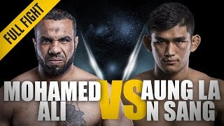 Download ONE: Full Fight | Mohamed Ali vs. Aung La N Sang | The Python's Choke | March 2016 Video