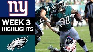 Download Giants vs. Eagles | NFL Week 3 Game Highlights Video