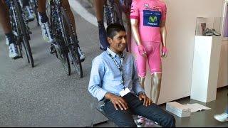 Download Nairo Quintana visiting Diadora HQ Video